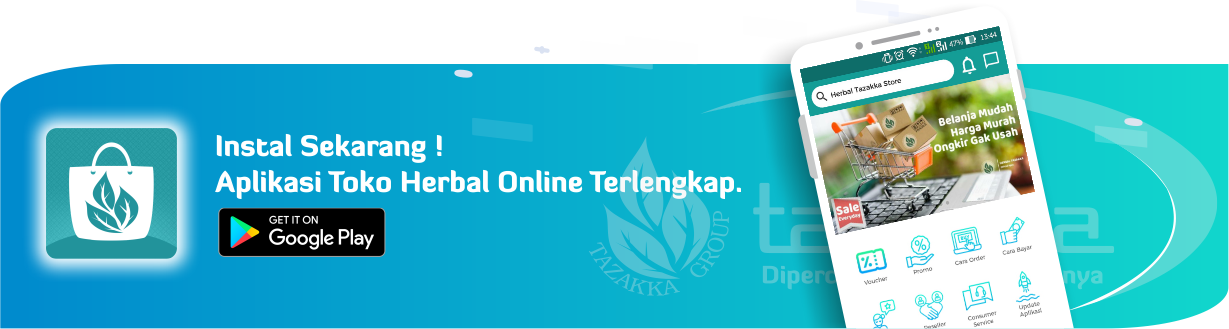 Download gratis aplikasi herbal android toko online tazakka