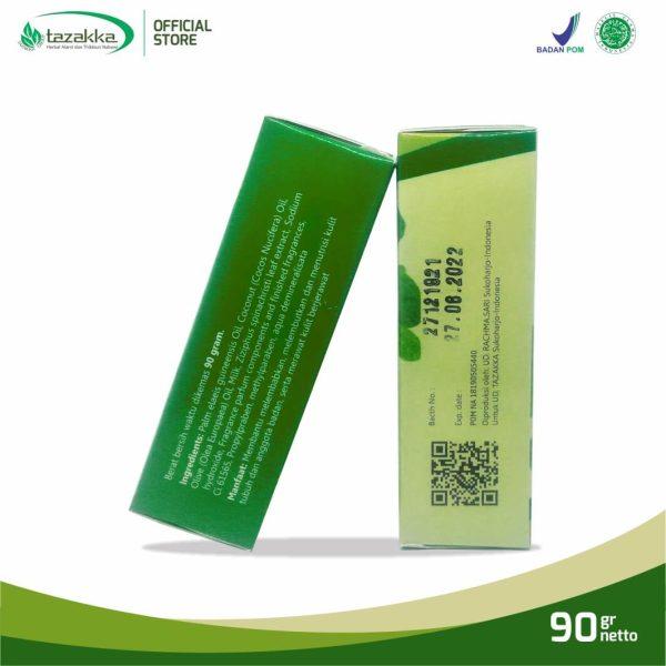 Sabun Daun Bidara Ruqyah Sabun Mandi Batang Herbal Tazakka 90 gr