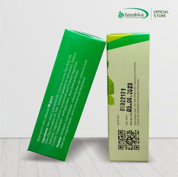 Sabun Daun Bidara Ruqyah Sabun Mandi Batang Herbal Tazakka 90 gr 1