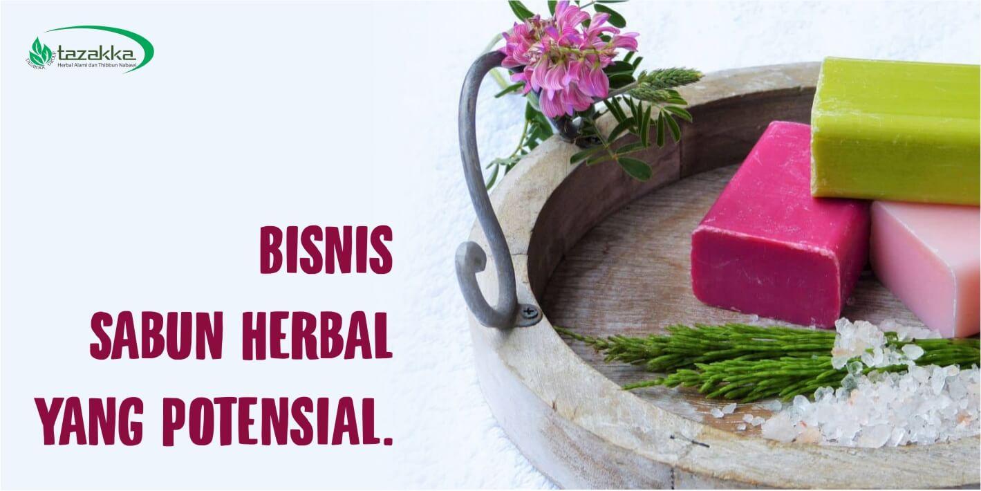 peluang usaha cara bisnis online reseller sabun herbal Tazakka Gratis