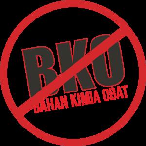 Logo Non BKO Bahan Kimia Obat