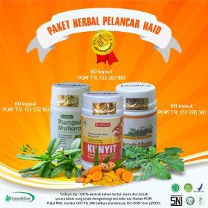 obat pelancar haid alami herbal Tazakka