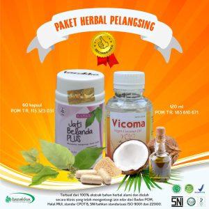 obat pelangsing diet alami herbal ampuh